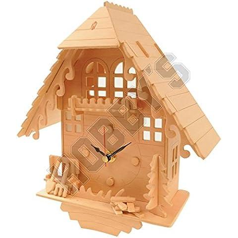 Orologio a cucù: Costruzione di legno di