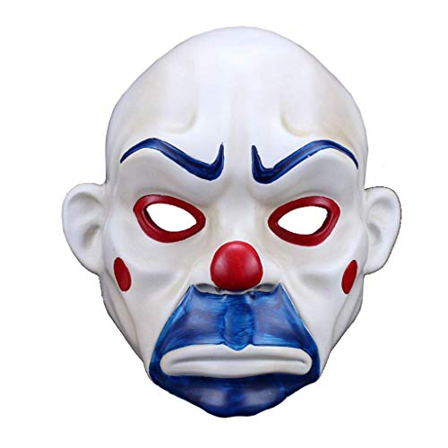 Halloween Batman Clown Robber Maske Joker Traurigkeit Film ()