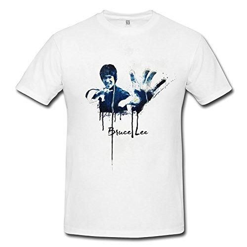 Bruce Lee Premium Herren T-Shirt Motiv aus Paul Sinus Aquarell