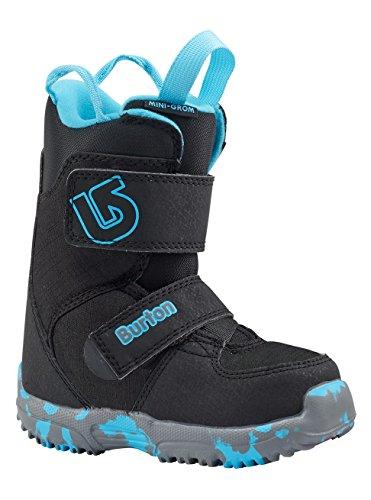 Burton Kinder Mini-Grom Snowboardboots, Black, 13C (Mini Burton)