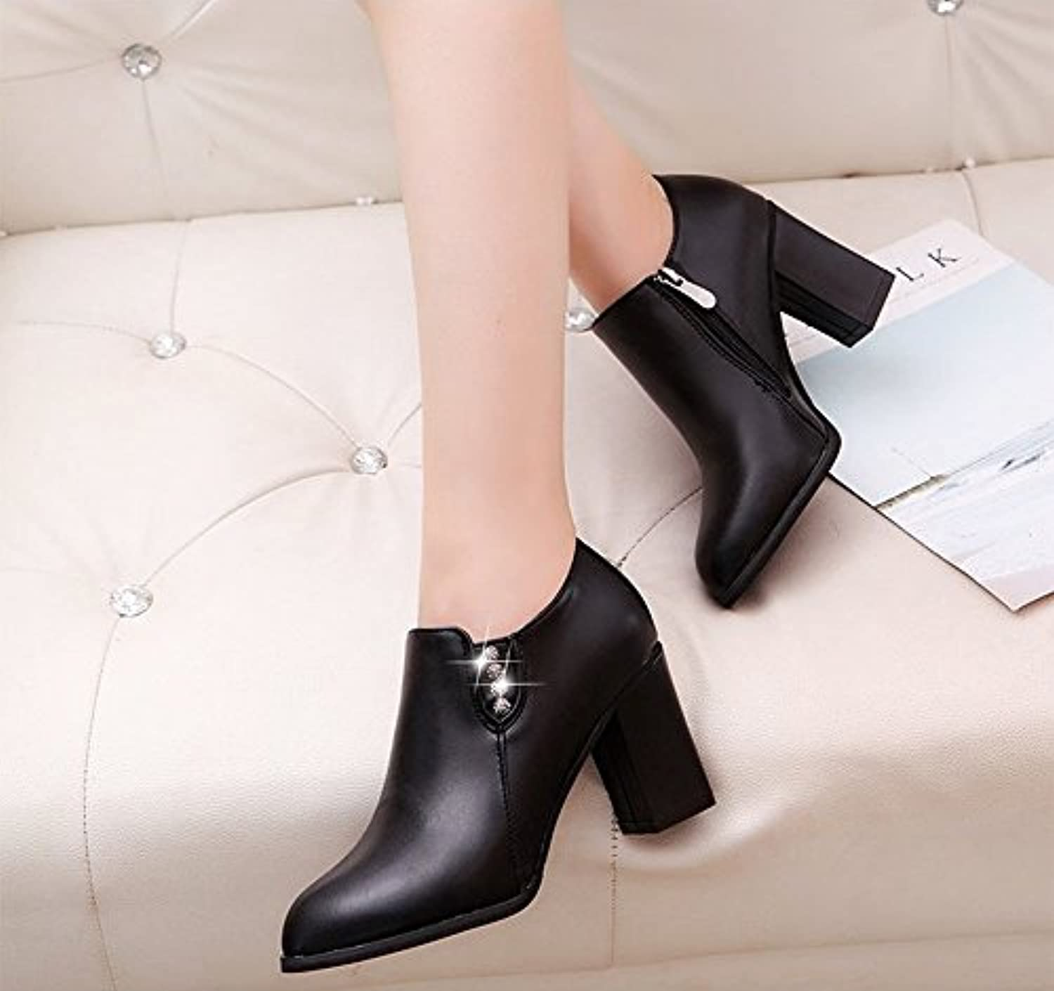 0c044ea61e2 in the rough rough rough with the Women s Boots Fashion Diamond Boots  Martin Boots