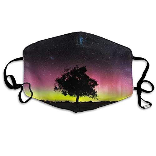 Xdevrbk Unisex Aurora Dust Mask/Antibacterial Mask -
