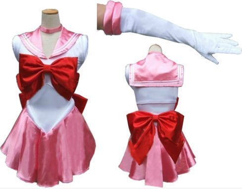 Chibi Cosplay Moon Kostüm - Sailor Moon Chibiusa Kostuem