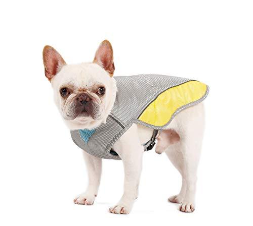 Penivo Sommer Cool Dog Harness für Kleine mittelgroße Hunde Einstellbare Kühlweste Kleidung EIS Hundehalsband (XXL)