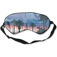 Palm Tree Sunset 99% Eyeshade Blinders Sleeping Eye Patch Eye Mask Blindfold For Travel Insomnia Meditation preisvergleich bei billige-tabletten.eu