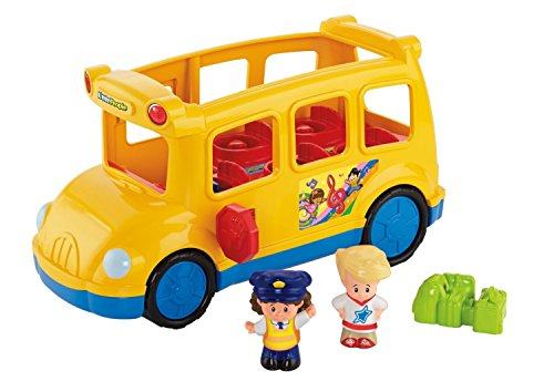 Fisher-Price – Little People – Lil' Movers School Bus – Figurines et...