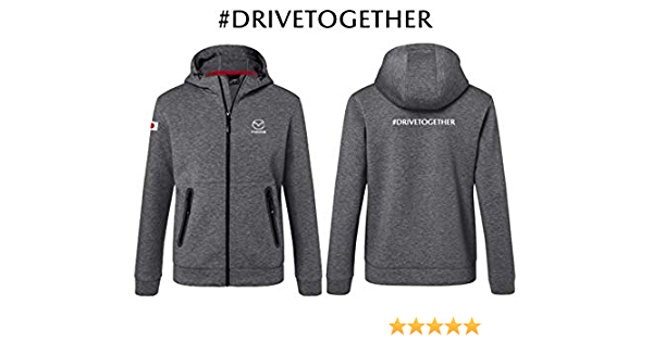 Mazda Original Drive Together Sweatjacke Grau Herren Neu L Auto