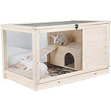 Casetas para perros Casa De Mascotas Jaula Para Conejos Jaula De Cerdos Holandesa Dormitorio Doméstico Jaula