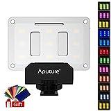 Aputure AL-M9 Mini-LED-Licht für Video- und Makrofotografie, Schwarz