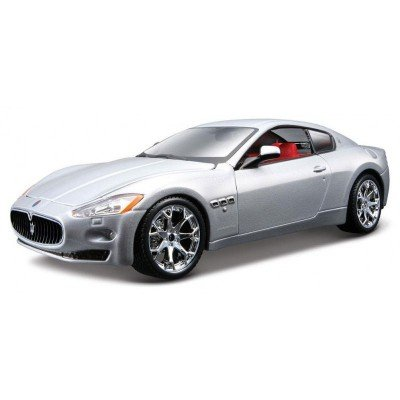 modele-reduit-de-voiture-de-sport-maserati-granturismo-grise-echelle-1-24
