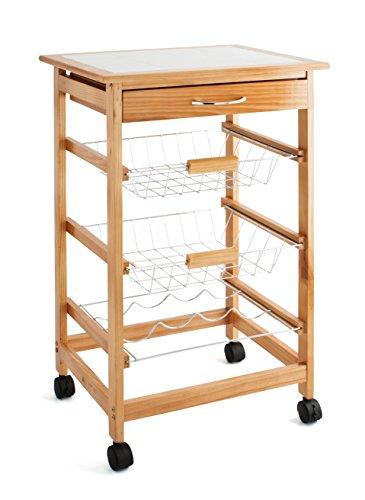 Quid Cart Verdulero con 2 cestas y bottelero