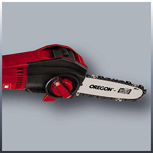 Einhell Expert GE-EC 720 T Kit - Motosierra telescópica (710W, longitud de corte: 18 cm, velocidad de corte: 13 m/s, espada y cadena de calidad OREGON)(ref.4501680)