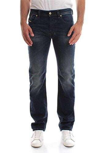 Diesel Herren Jeans 0853R Larkee Regular Straight Fit Blue (82) 36/32 - Diesel Herren Jeans