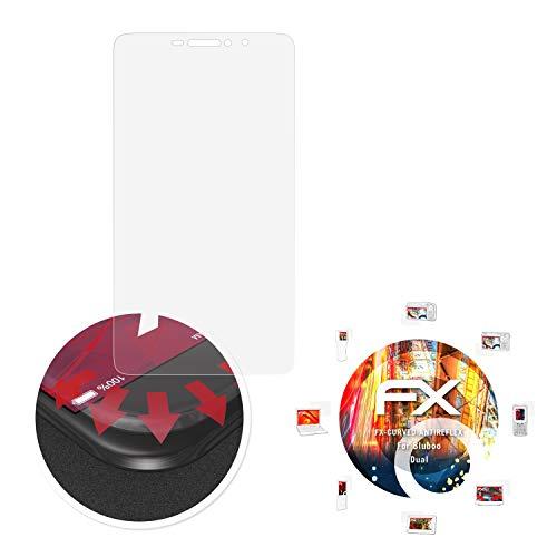 atFolix Schutzfolie passend für Bluboo Dual Folie, entspiegelnde und Flexible FX Displayschutzfolie (3X)