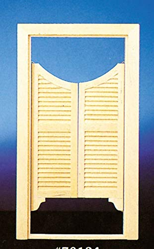 Melody Jane Puppenhaus Handwerker 1:12 Maßstab Miniatur Doppel Swinging Limousine Türen -