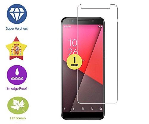 Foto de CASE & GLASS 1 Unidad de Protector de Pantalla Premium 2.5D Cristal Vidrio Templado 9H para Vodafone Smart N9 Lite