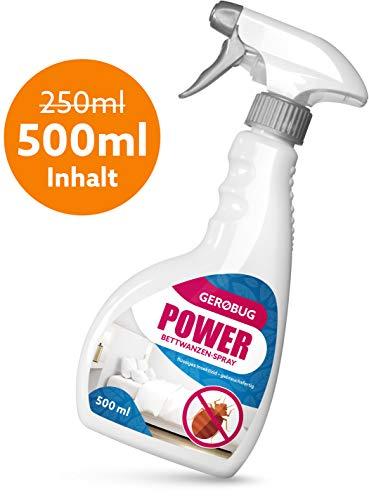 Gerobug 500 ml Power Bettwanzen-Spray zur Bettwanzen-Bekämpfung + Support vom Experten -