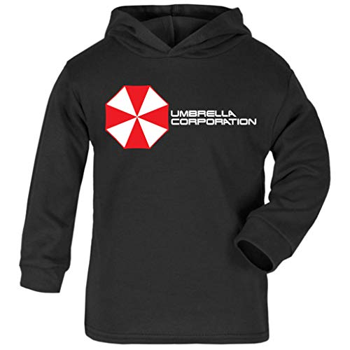 Cloud City 7 Resident Evil Umbrella Corporation Logo Baby and Kids Hooded Sweatshirt