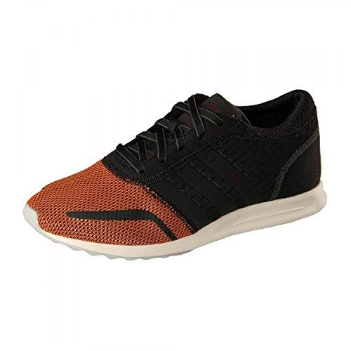 adidas Herren Los Angeles Sneakers, Blau Neon bright red-core black-grey