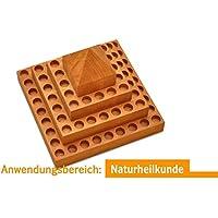 WoodStock Pyramid-XL-72 für 72 Stk. 10ml Fläschen // Sortiersystem für Homöopathie, Essenzen, Öle, etc. preisvergleich bei billige-tabletten.eu