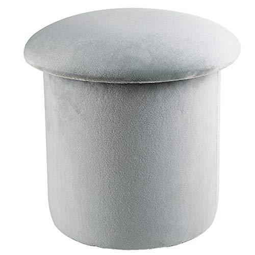 Tipo de producto: taburete multifuncional de setasTamaño: 32 * 30 cm, 36 * 36cm (diámetro * altura), capacidad de carga: 120KGColor: color de la imagenForma: redondaMaterial: franela artificialesStool material de la columna: tablero de fibraEstilo de...