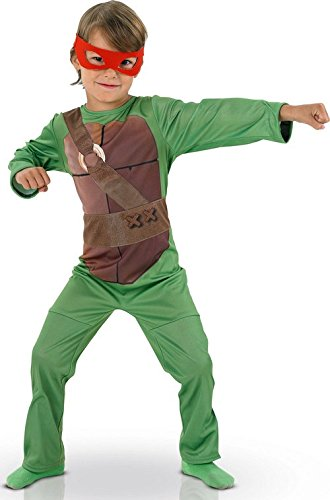 Ninja Turtles Kostüm für Jungen 98/110 (3-5 Jahre) (Ninja Turtles I)