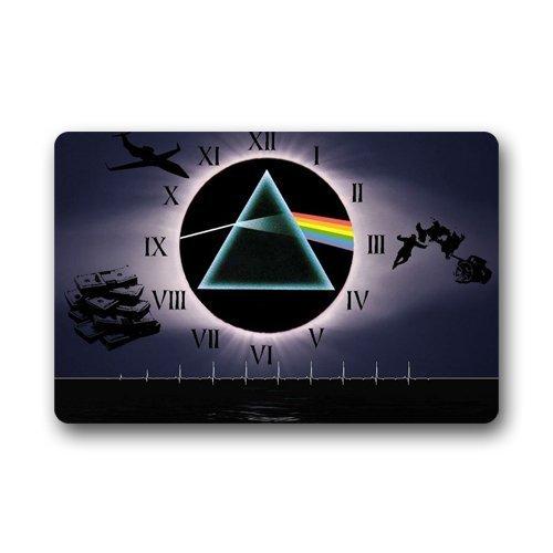 Vercxy Teppich, Fußmatte Maschinenwaschbar, Pink Floyd-Dark Side of the Moon, innen Fußmatten Matten Teppiche, 59,9x 39,9cm