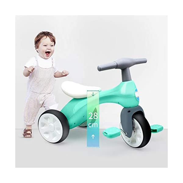 TX Toddler Tricycle Safety Non-Slip 3-6 Years Old Children Boys Girls Lightweight Easy Assemble TX Wheels one-piece closed round the core, avoid foot stuck in the wheels. Bump handle design, comfort grip, non-slip easy to sell. Skid pedals, rotating flexible, easy to slip. 6