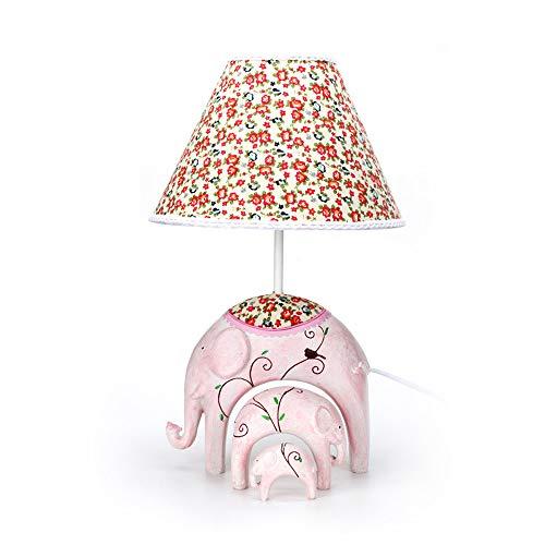 SMGPY Modernos, Retro, pequeños Elefantes, Adornos, lámparas de Mesa, casa Creativa iluminación...