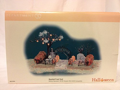 Dept 56 Accessories HAUNTED FRONT YARD 52924 Halloween New by DEPT 56 ACCESSORIES