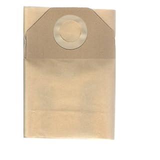 Elettrocasa Confezione 5 sacchetti carta compatibili con aspirapolvere Hoover, mod. S 4346 DRY 100, S 4348 S FORZA 1100, S 4494 DRY PLUS 1000, S 4426 AQUA PLUS ELECTRONIC, S 4496 AQUA PLUS 1200, S 4478 AQUA PLUS 1200, S 4514 AQUAJET