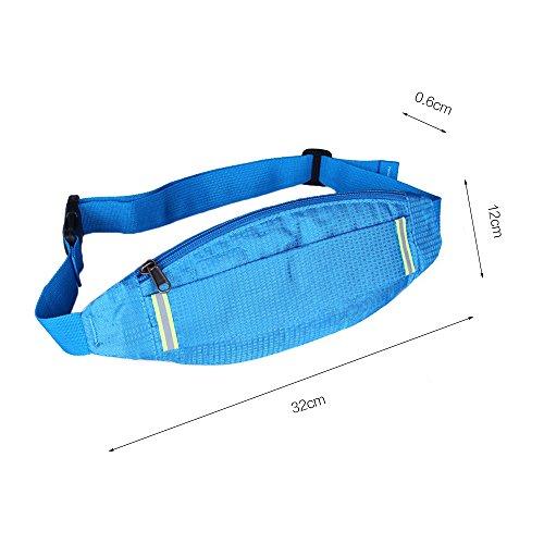 Ya Jin Unisex Running Bauchtasche/Fanny Tasche Taille Pack für laufen Wandern Radfahren Klettern Camping Reisen Camouflagegreen