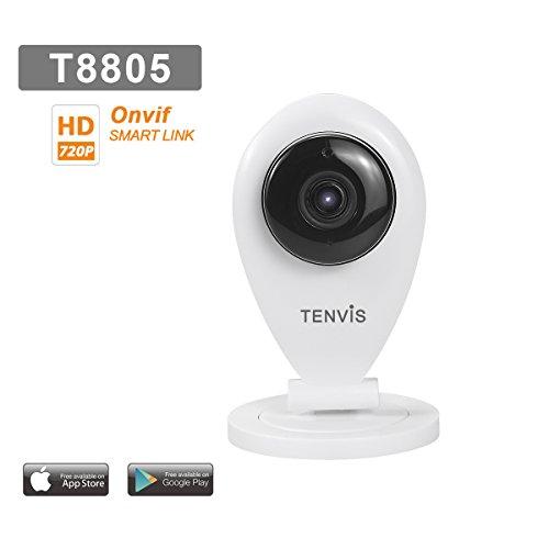 Tenvis T8805 Überwachung Ip HD-kamera - Bewegungsmelder Alarm - - Nachtsicht - Einfache Einrichtung - Bidirektionaler Ton - ONVIF- Anwendung Telefon/Handbuch in DEUTSCH (Sicherheit Am Arbeitsplatz-fotos)