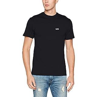 Vans Herren T-Shirt Left Chest Logo Tee, Schwarz (Black Blk), X-Small