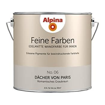 alpina feine farben d cher von paris 2 5 lt 898592 baumarkt. Black Bedroom Furniture Sets. Home Design Ideas