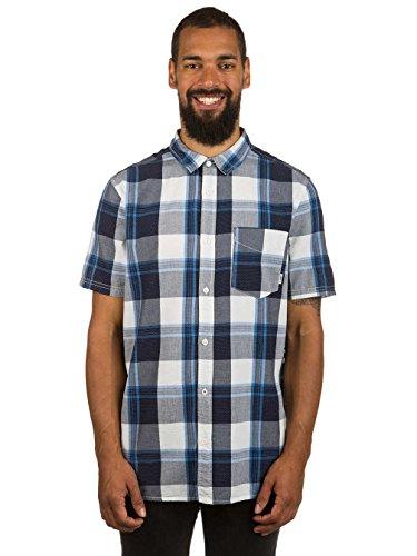Herren Hemd kurz Element Deschutes Shirt Bone White