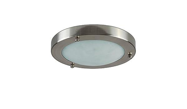 Plafoniere Minisun : Minisun lampada da soffitto moderna e rotonda con un paralume