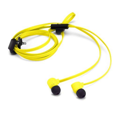 Nokia 02738V1 Pop Stereo In-Ear Kopfhörer (3,5mm Klinkenstecker) gelb