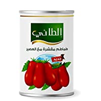 Al-Taie Peeled Tomatoes with Juice, 400g - Pack of 1