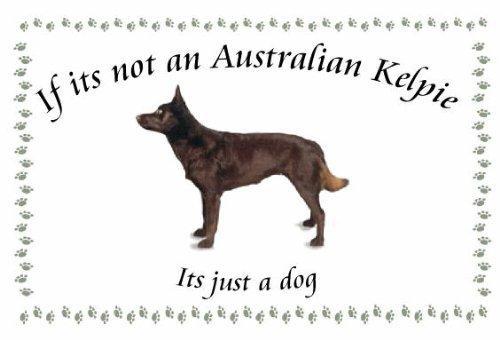 Australian Kelpie-Portachiavi a forma di cane, se non è