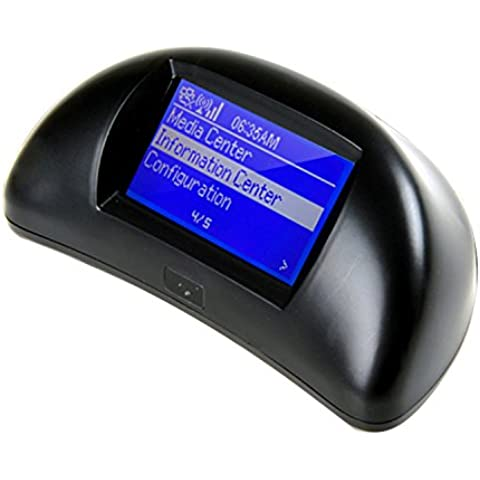 RG multifuncional Internet Radio Digital Portátil Conexión inalámbrica Wi-Fi USB Streaming Pronóstico del tiempo alarma Colck Medios Reproductor de MP3 con mando a distancia, Más de 20.000 estaciones de radiodifusión Alrededor del Mundo