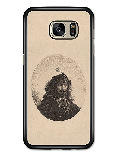 Rembrandt Van Rijn Self Portrait Artist Art Vintage hülle für Samsung Galaxy S7 Edge (Rijn Van Self Portrait)