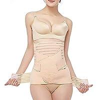3 in 1 Postpartum Support Recovery Belly Wrap Waist/Pelvis Belt Body Shaper Postnatal Shapewear-XL
