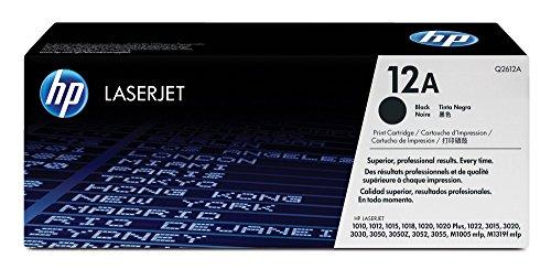 Preisvergleich Produktbild HP 12A (Q2612A) Schwarz Original Toner für HP Laserjet 1010, 1020, 1022, 3015, 3050, 3055
