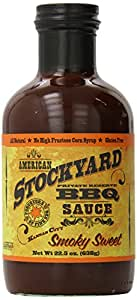 American Stockyard Smoky Sweet BBQ Sauce 520ml