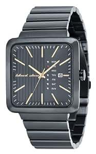 Black Dice Herren-Armbanduhr Baller Analog edelstahl beschichtet schwarz BD 062 02