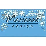 Marianne Design Snowflakes Border creatables Plantillas