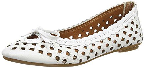 Andrea Conti - 0499206, Ballerine Donna Bianco (Weiß (weiß 001))