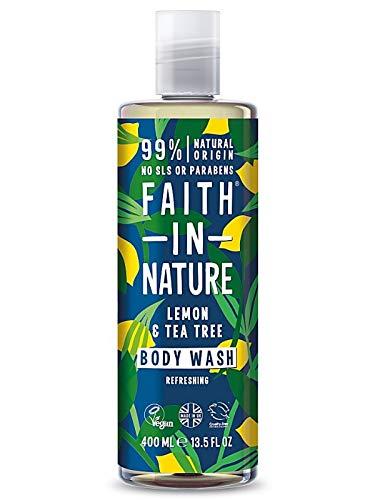 Faith in Nature, Gel jabón Limon árbol te - 400