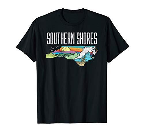 Southern Shores State of North Carolina Outdoors T-Shirt -